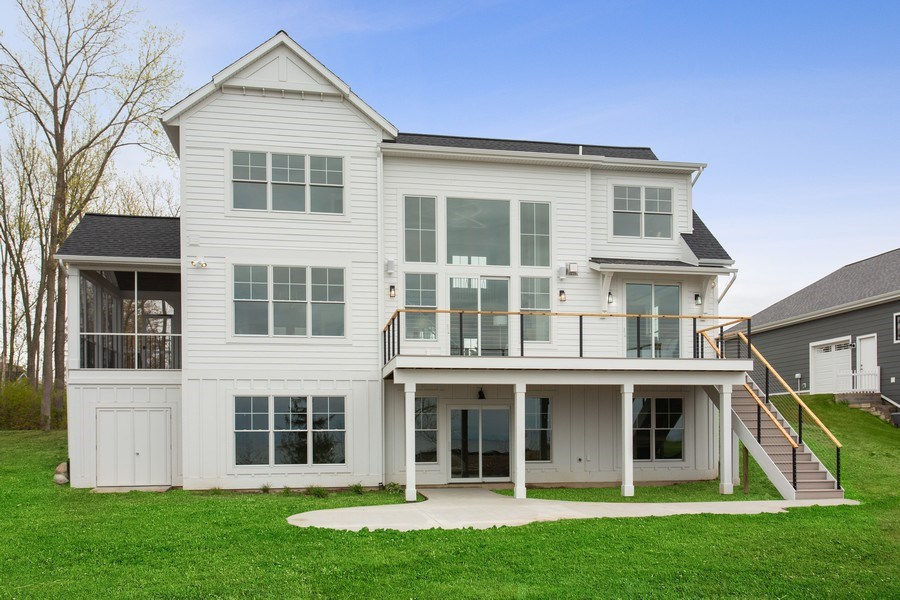 Real Estate Photography - 7390 Highfield Beach Drive, South Haven, MI, 49090 - Rear View