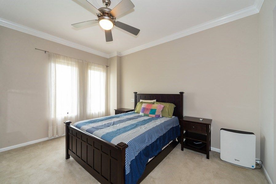 Real Estate Photography - 3232 N Halsted, #1008, Chicago, IL, 60657 - Master Bedroom