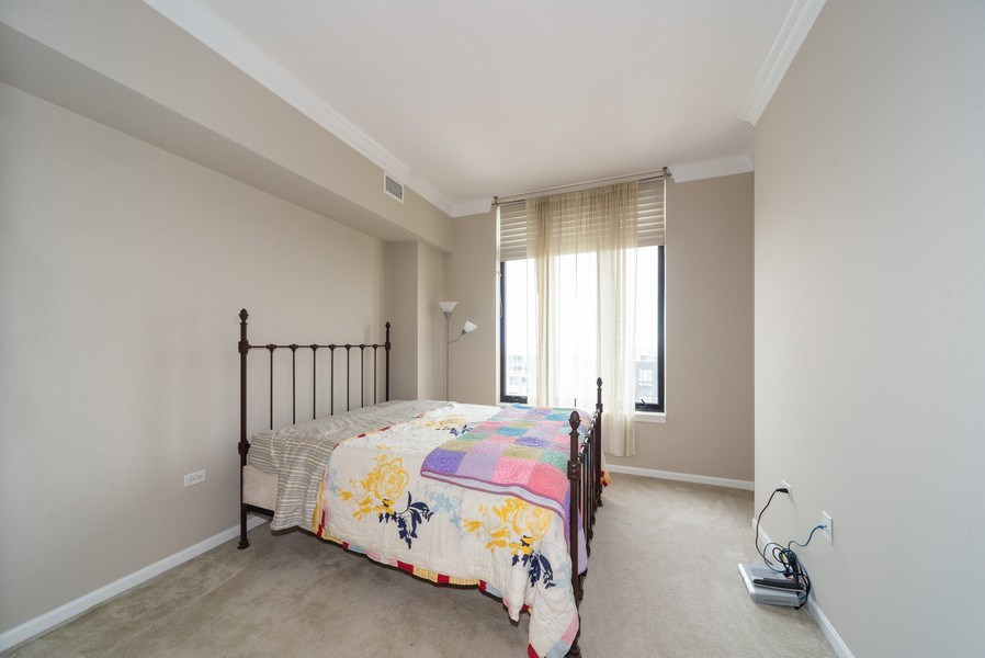 Real Estate Photography - 3232 N Halsted, #1008, Chicago, IL, 60657 - Bedroom