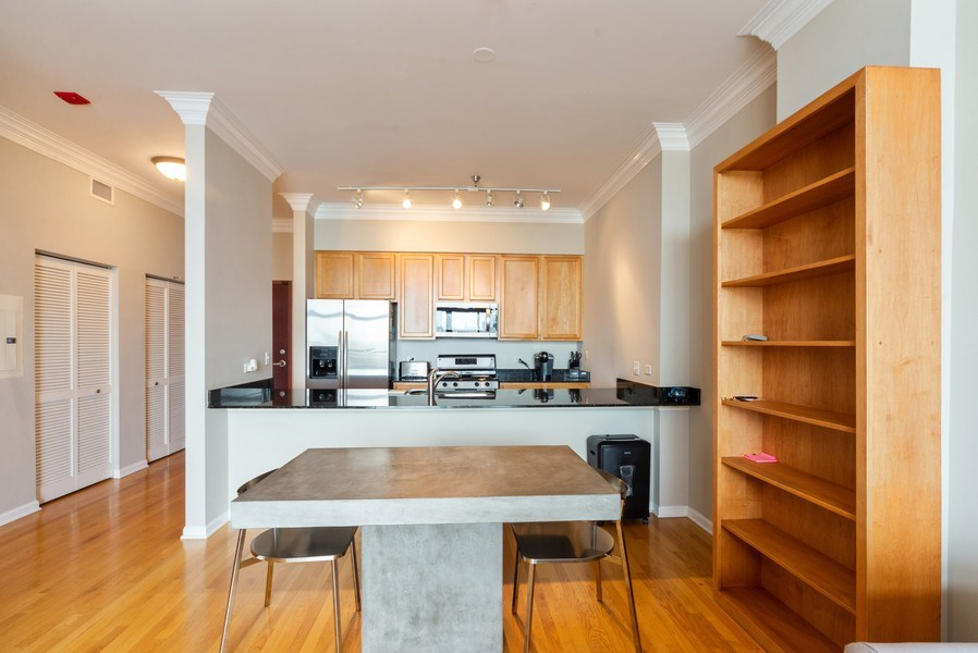 Real Estate Photography - 3232 N Halsted, #1008, Chicago, IL, 60657 - Dining Room