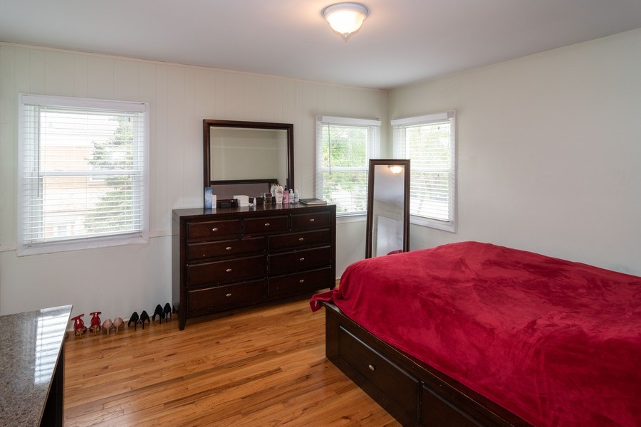 Real Estate Photography - 1414 Harlem A, River Forest, IL, 60305 - Master Bedroom