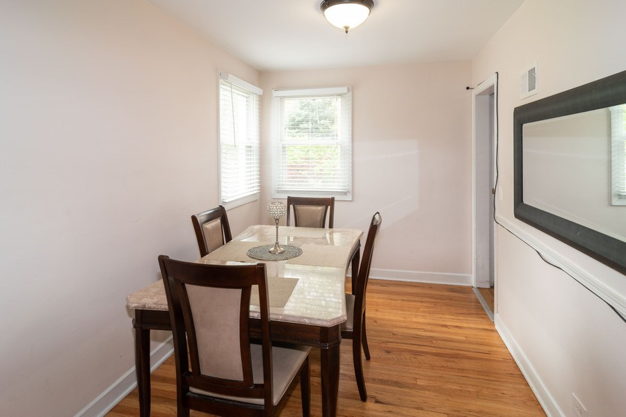 Real Estate Photography - 1414 Harlem A, River Forest, IL, 60305 - Dining Room