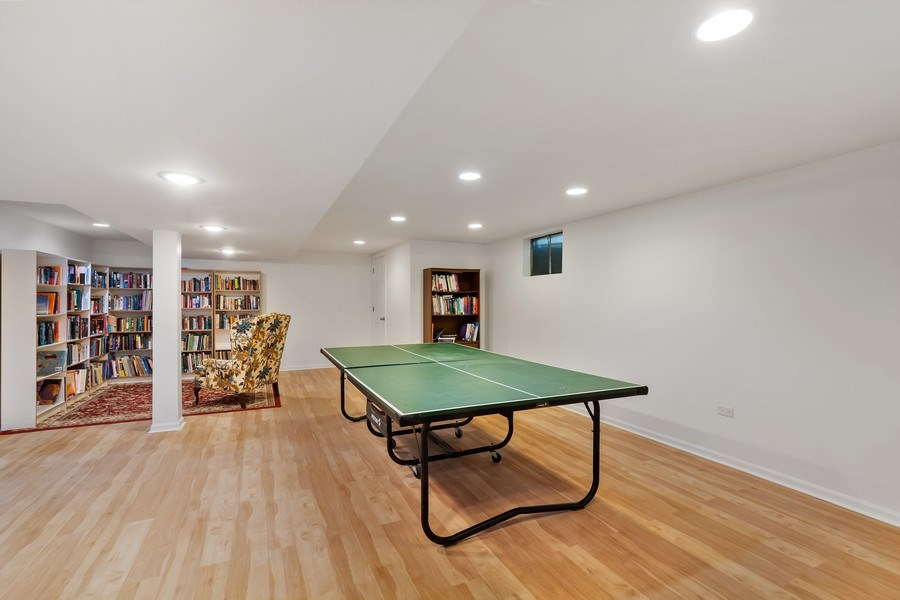 Real Estate Photography - 128 Lincolnwood Ave, Highland Park, IL, 60035 - Recreation Room