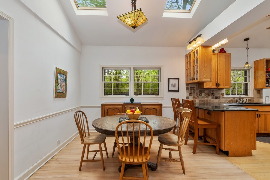 Real Estate Photography - 128 Lincolnwood Ave, Highland Park, IL, 60035 - Dining Room