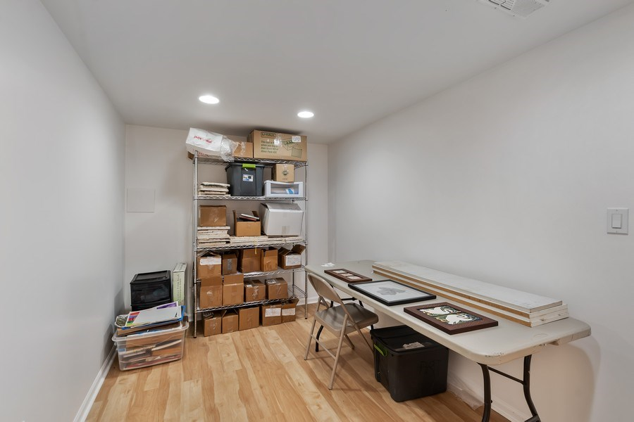 Real Estate Photography - 128 Lincolnwood Ave, Highland Park, IL, 60035 - Office - Basement