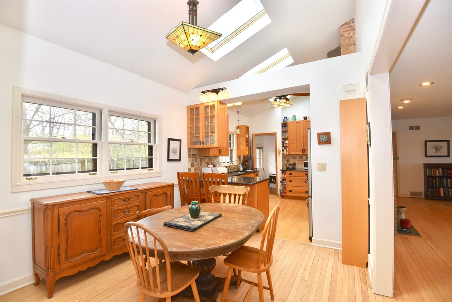 Real Estate Photography - 128 Lincolnwood Ave, Highland Park, IL, 60035 - Dining Room to Kitchen
