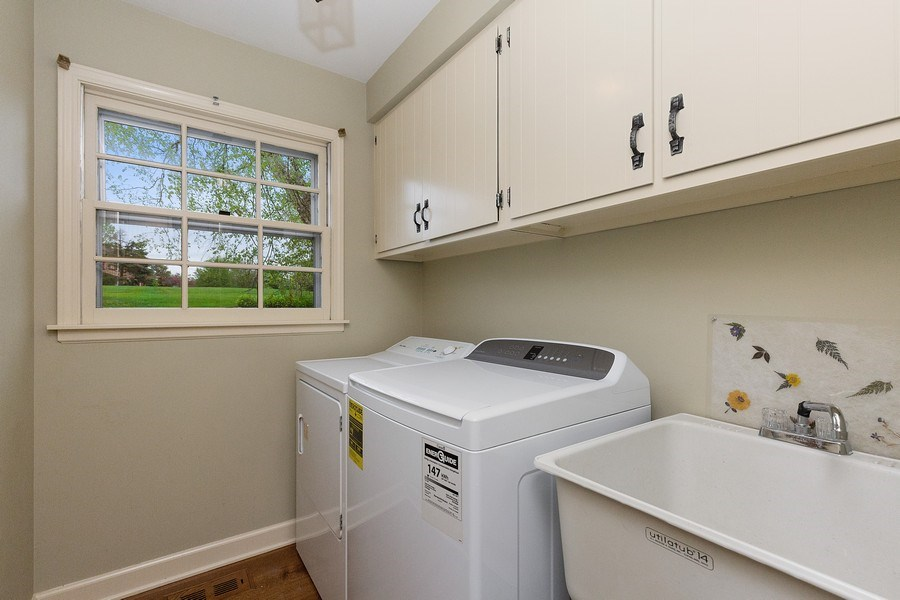 Real Estate Photography - 80 Watergate Drive, South Barrington, IL, 60010 - Laundry Room
