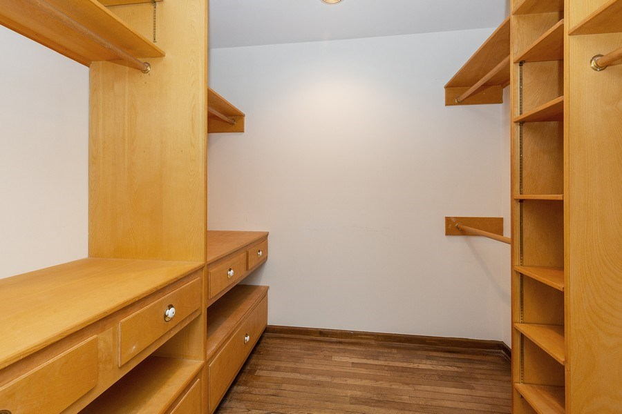 Real Estate Photography - 80 Watergate Drive, South Barrington, IL, 60010 - Master Bedroom Closet