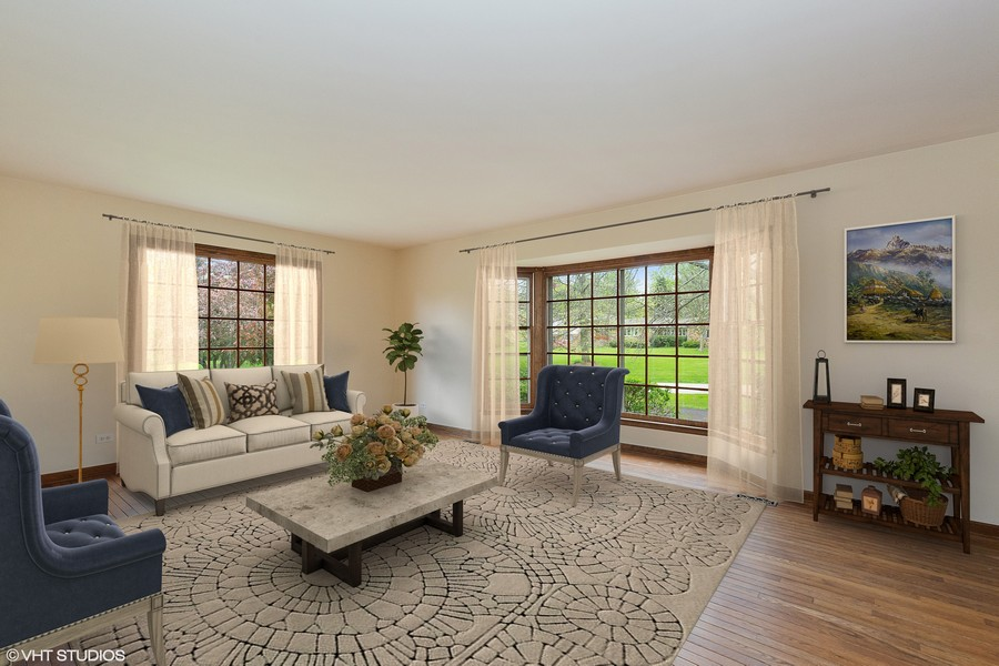 Real Estate Photography - 80 Watergate Drive, South Barrington, IL, 60010 - Living Room