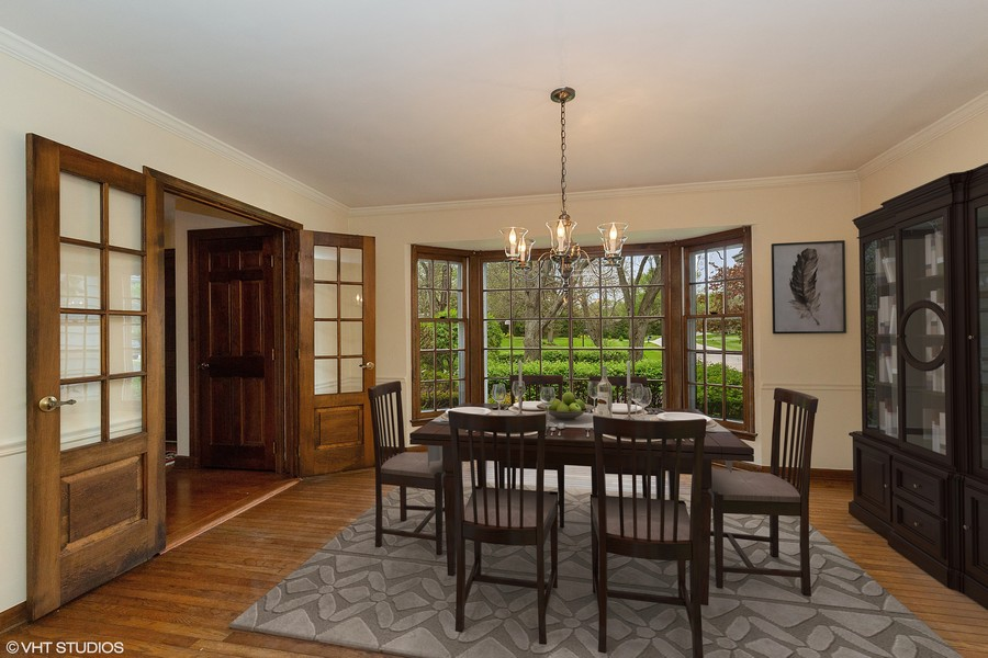 Real Estate Photography - 80 Watergate Drive, South Barrington, IL, 60010 - Dining Room