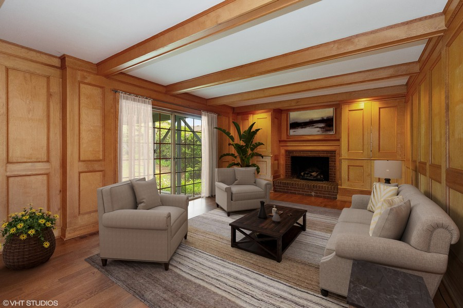 Real Estate Photography - 80 Watergate Drive, South Barrington, IL, 60010 - Family Room