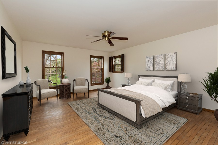 Real Estate Photography - 80 Watergate Drive, South Barrington, IL, 60010 - Master Bedroom