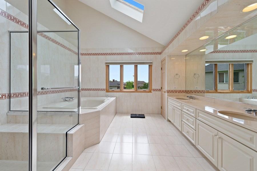 Real Estate Photography - 6705 Fieldstone Drive, Burr Ridge, IL, 60527 - Master Bedroom