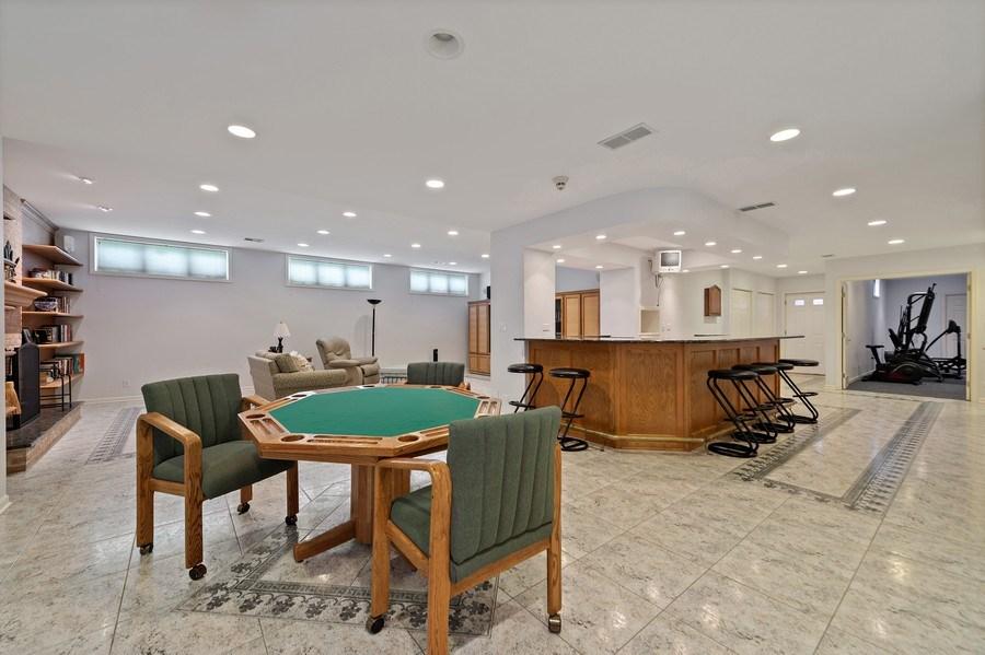 Real Estate Photography - 6705 Fieldstone Drive, Burr Ridge, IL, 60527 - Lower Level