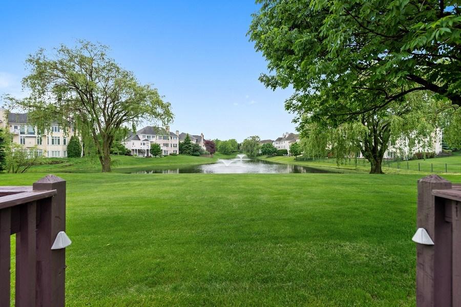 Real Estate Photography - 6705 Fieldstone Drive, Burr Ridge, IL, 60527 - Back Yard
