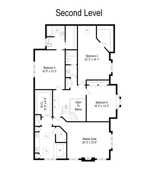 Real Estate Photography - 6705 Fieldstone Drive, Burr Ridge, IL, 60527 - Floor Plan