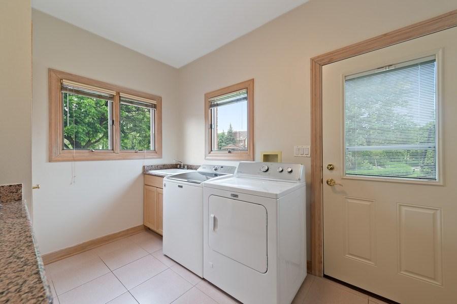 Real Estate Photography - 6705 Fieldstone Drive, Burr Ridge, IL, 60527 - Laundry Room