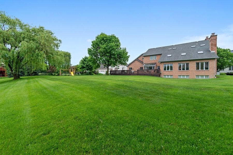 Real Estate Photography - 6705 Fieldstone Drive, Burr Ridge, IL, 60527 - Rear View