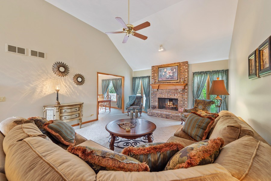 Real Estate Photography - 810 Dunham Drive, West Chicago, IL, 60185 - Living Room
