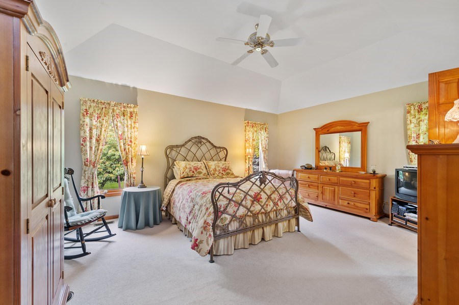 Real Estate Photography - 810 Dunham Drive, West Chicago, IL, 60185 - Master Bedroom