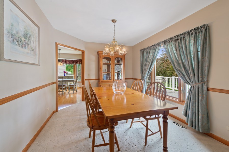 Real Estate Photography - 810 Dunham Drive, West Chicago, IL, 60185 - Dining Room