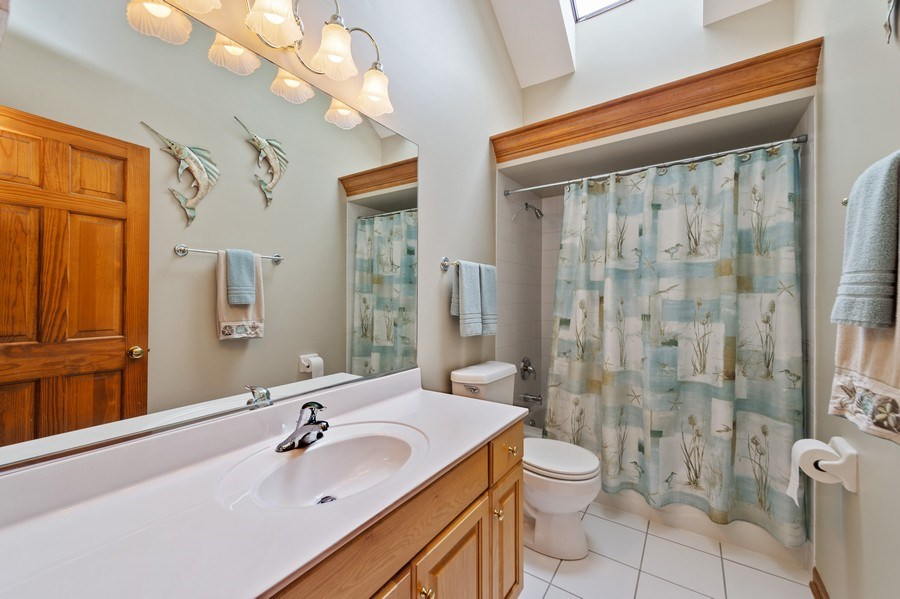 Real Estate Photography - 810 Dunham Drive, West Chicago, IL, 60185 - Bathroom