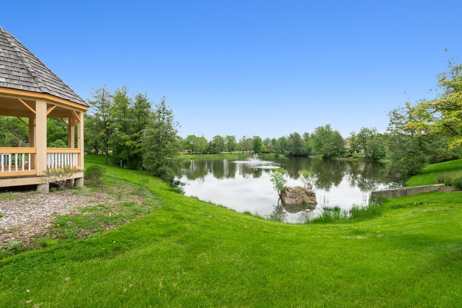 Real Estate Photography - 810 Dunham Drive, West Chicago, IL, 60185 - Pond