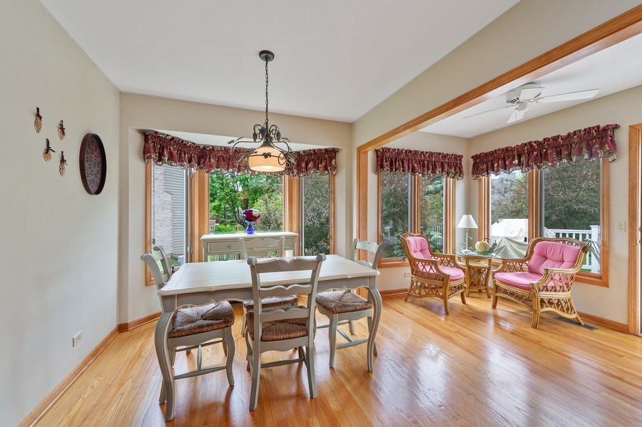 Real Estate Photography - 810 Dunham Drive, West Chicago, IL, 60185 - Breakfast Area