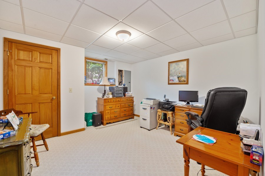 Real Estate Photography - 810 Dunham Drive, West Chicago, IL, 60185 - Office