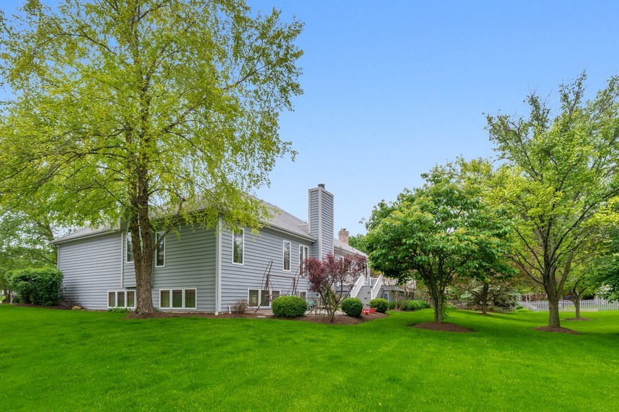Real Estate Photography - 810 Dunham Drive, West Chicago, IL, 60185 - Side View