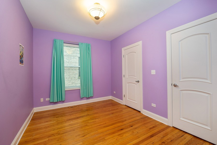 Real Estate Photography - 1332 W Albion Ave #1W, Chicago, IL, 60626 - 2nd Bedroom