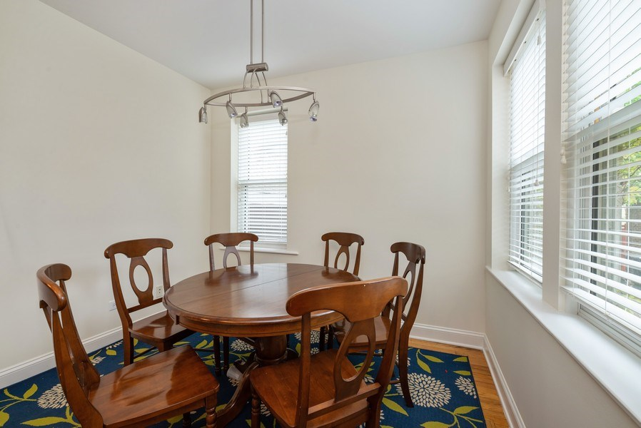 Real Estate Photography - 1332 W Albion Ave #1W, Chicago, IL, 60626 - Dining Room