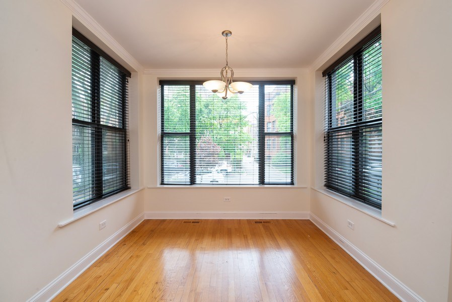 Real Estate Photography - 1332 W Albion Ave #1W, Chicago, IL, 60626 - Sun Room