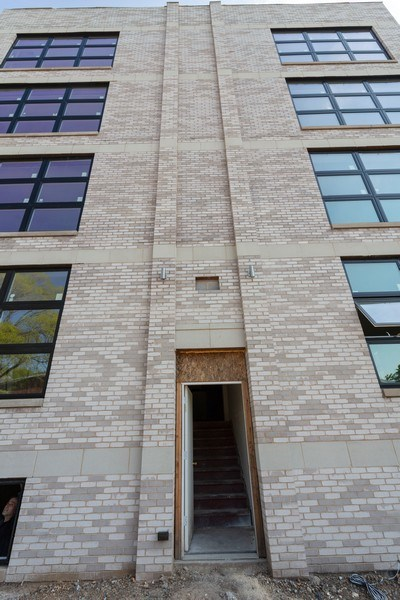 Real Estate Photography - 1209 East 46th Street, SIMPLEX, Chicago, IL, 60653 - Front View