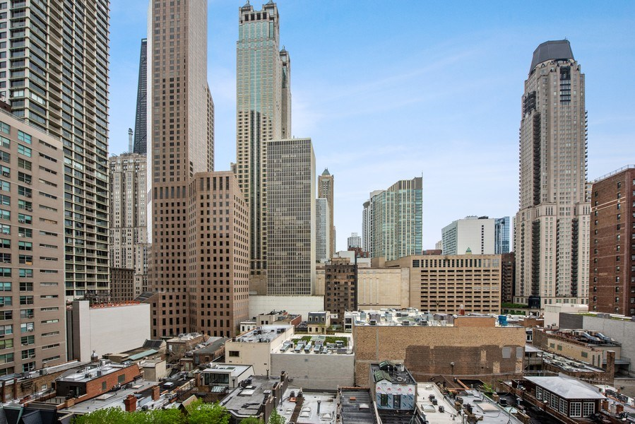 Real Estate Photography - 100 E. Bellevue Place #11D, Chicago, IL, 60611 - City View