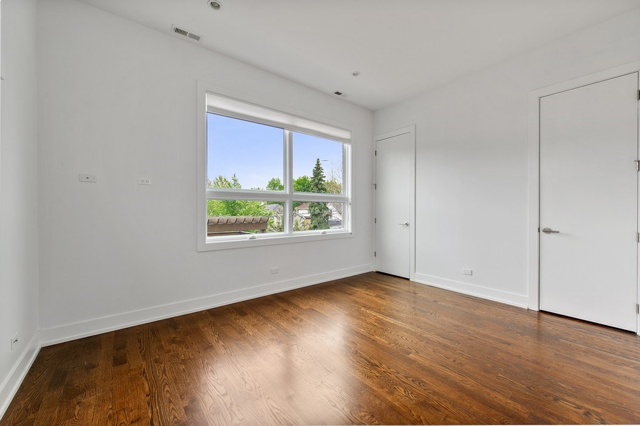 Real Estate Photography - 2033 W. Cortland, Chicago, IL, 60647 - 2nd Bedroom