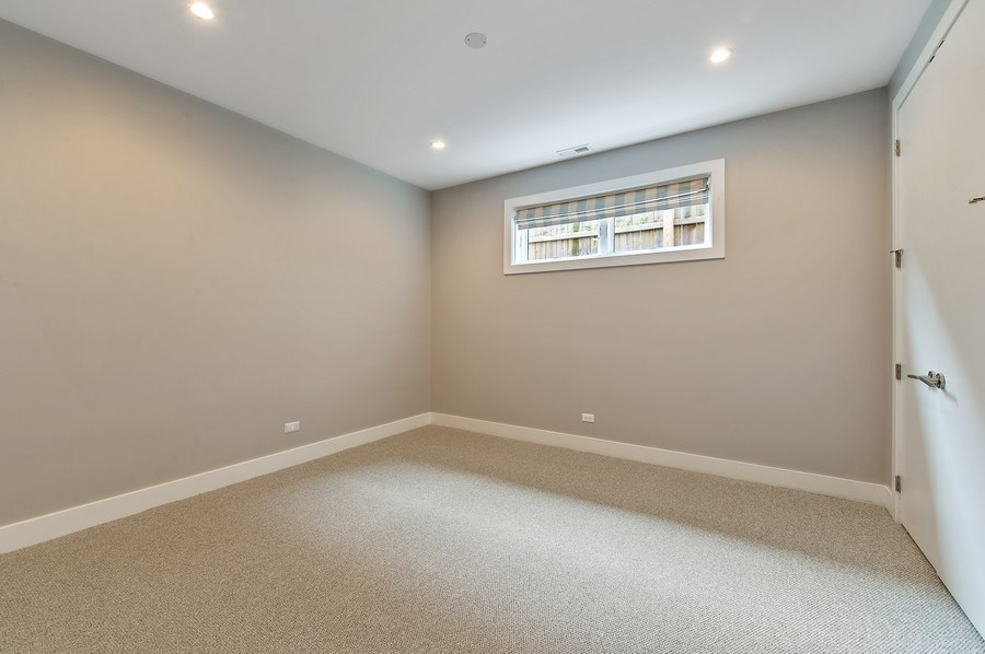 Real Estate Photography - 2033 W. Cortland, Chicago, IL, 60647 - 4th Bedroom