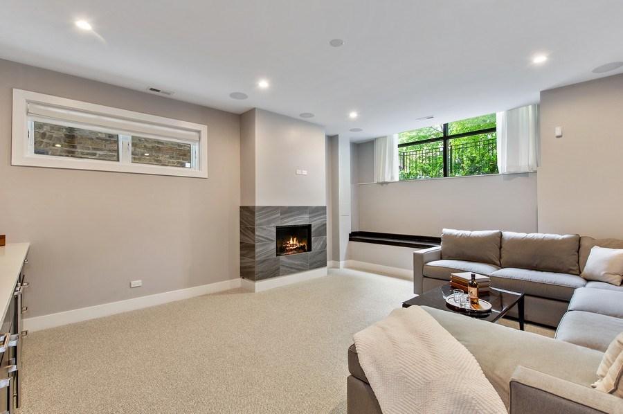 Real Estate Photography - 2033 W. Cortland, Chicago, IL, 60647 - Basement
