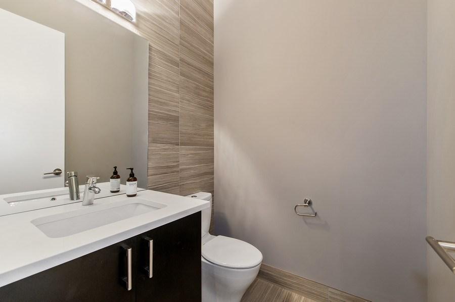 Real Estate Photography - 2033 W. Cortland, Chicago, IL, 60647 - Half Bath