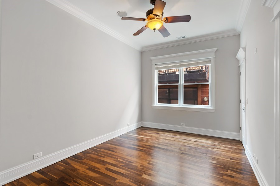 Real Estate Photography - 3935 N Western Ave Unit 3N, Chicago, IL, 60618 - 2nd Bedroom
