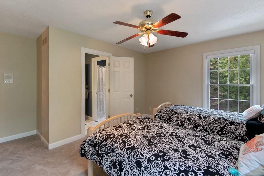 Real Estate Photography - 3170 Estates Drive  North, St. Joseph, MI, 49085 - Third Bedroom to Jack & Jill Bathroom