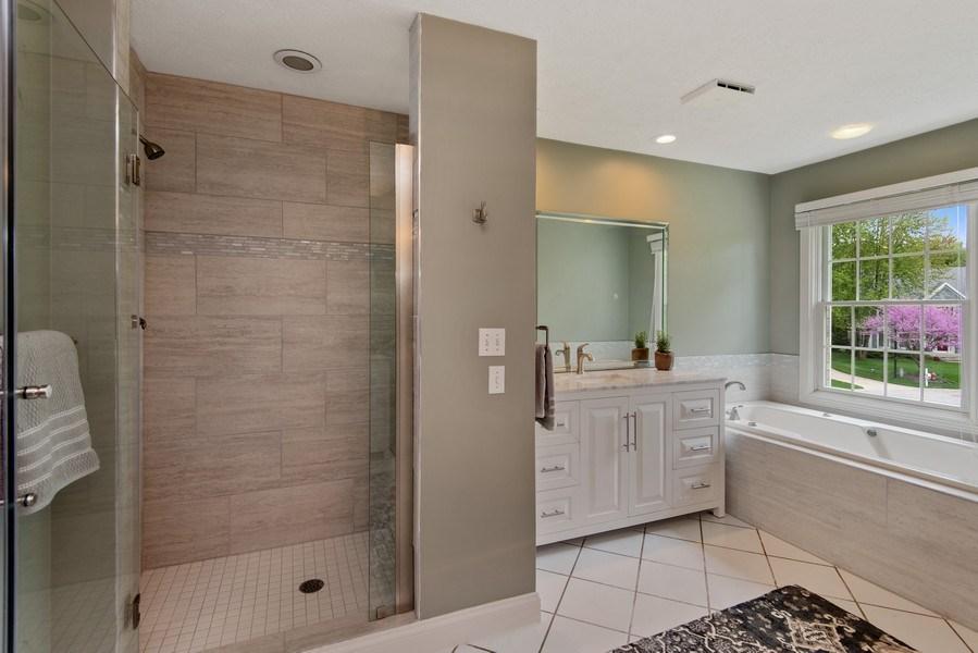 Real Estate Photography - 3170 Estates Drive  North, St. Joseph, MI, 49085 - Master Bathroom