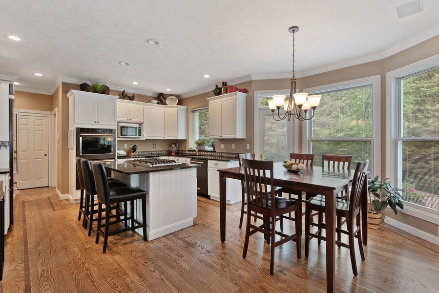 Real Estate Photography - 3170 Estates Drive  North, St. Joseph, MI, 49085 - Kitchen / Breakfast Room