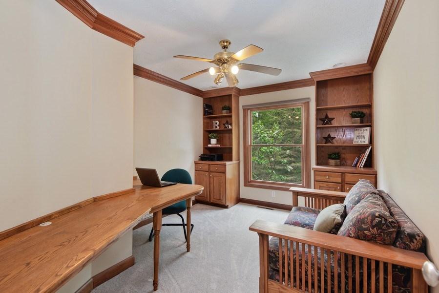 Real Estate Photography - 3170 Estates Drive  North, St. Joseph, MI, 49085 - Office/Den