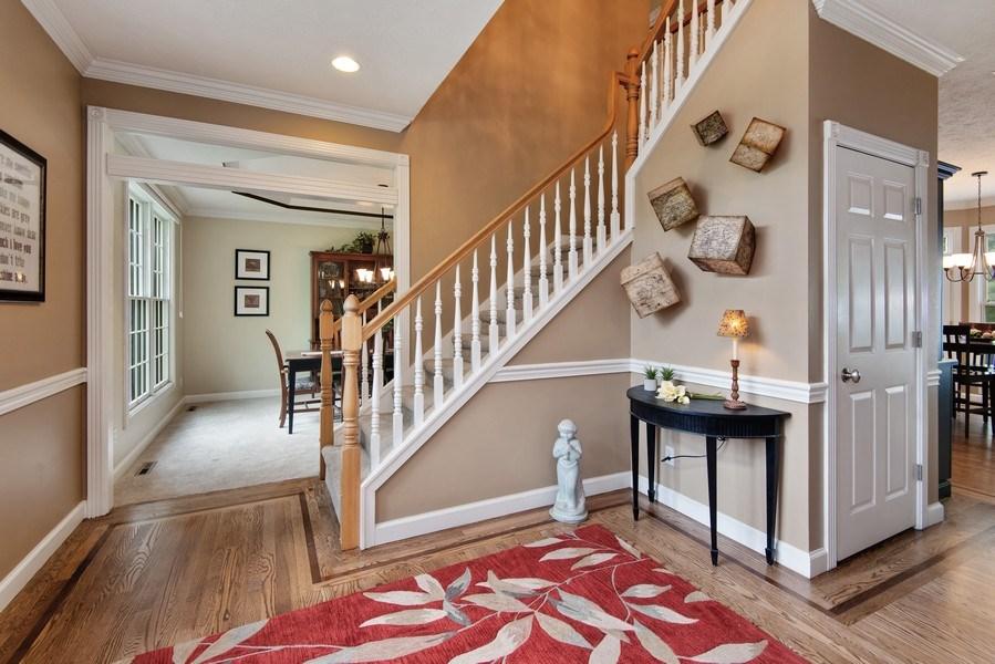 Real Estate Photography - 3170 Estates Drive  North, St. Joseph, MI, 49085 - Staircase