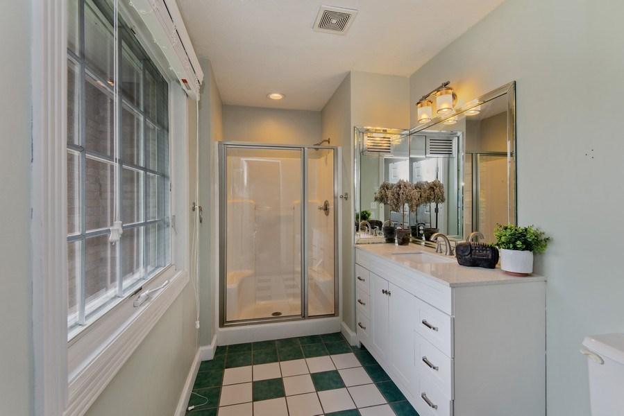 Real Estate Photography - 3170 Estates Drive  North, St. Joseph, MI, 49085 - Bathroom in Junior Suite