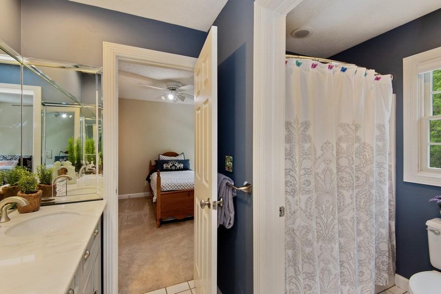 Real Estate Photography - 3170 Estates Drive  North, St. Joseph, MI, 49085 - Jack & Jill Bathroom