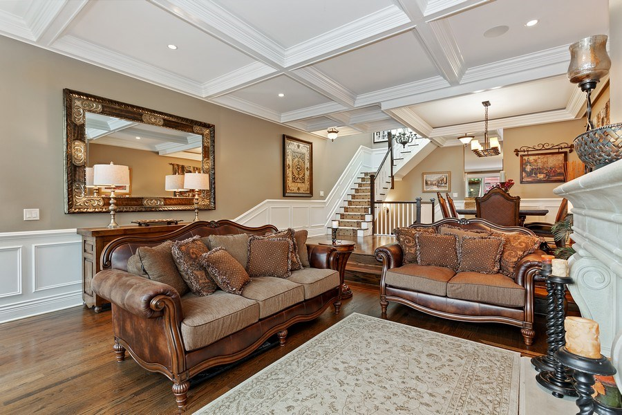 Real Estate Photography - 2514 N Greenview, Chicago, IL, 60614 - Living Room