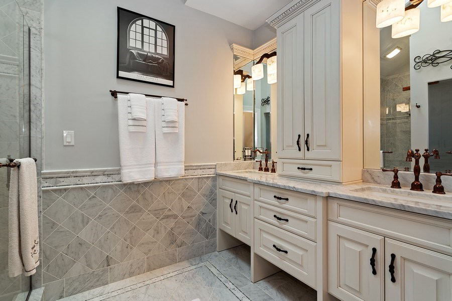 Real Estate Photography - 2514 N Greenview, Chicago, IL, 60614 - Master Bathroom