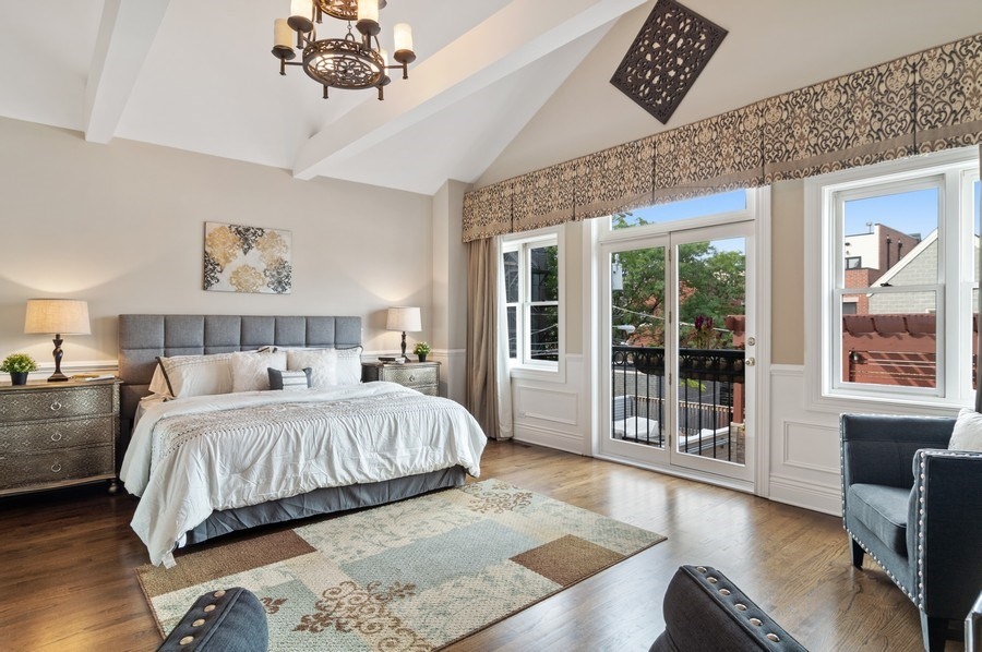 Real Estate Photography - 2514 N Greenview, Chicago, IL, 60614 - Master Bedroom
